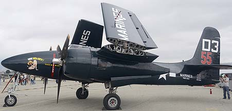 Grumman F7F-3P Tigercat NX700F Here Kitty Kitty, May 14, 2011